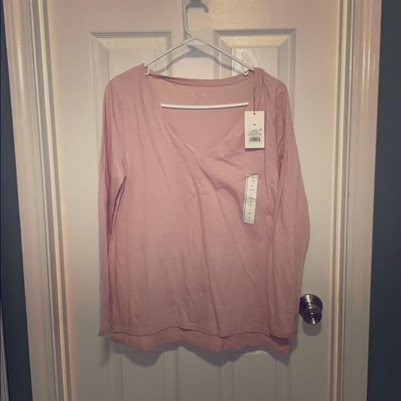 Target Tops - Dusty pink long sleeve